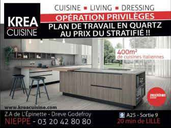 KREACUISINE, Magasin de Cuisines en France
